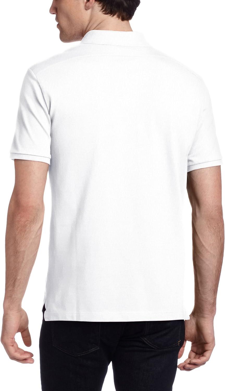 White X-Large Victorinox Mens VX Stretch Pique Polo Shirt