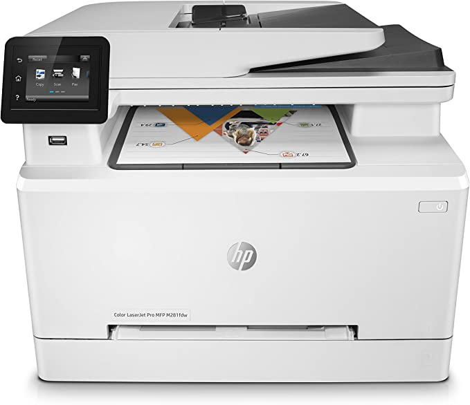 Hp Color Laserjet Pro M281fdw Multifunktions Farblaserdrucker Computer Zubehör