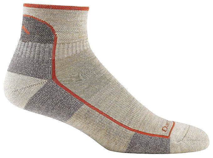 189e207a4e3 Amazon.com   Darn Tough Vermont Men s 1 4 Merino Wool Cushion Hiking Socks    Athletic Socks   Clothing