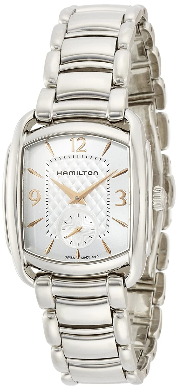 [ハミルトン]HAMILTON 腕時計 Bagley(バグリー) ブレス H12451155 【正規輸入品】 B00NPQ8UWQ