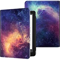 Fintie Folio Case for All-new Kindle (10th Generation, 2019) / Kindle (8th Generation, 2016) - Book Style Premium PU Leather Shockproof Cover with Auto Sleep/Wake, Galaxy