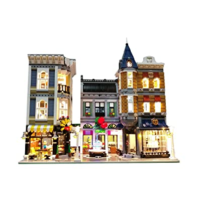 Brick Loot LED Lighting Kit for Lego Assembly Square - 10255 - Custom Designed - Handmade - Durability Tested: Toys & Games