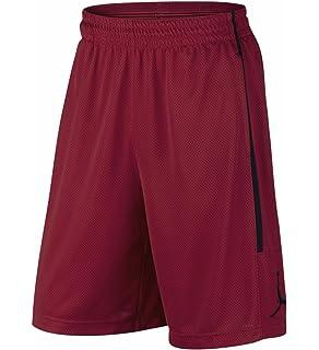 91aba8c7a6e Jordan AJ1122-010: Shimmer Mens Black/Gym Red Shorts at Amazon Men's ...