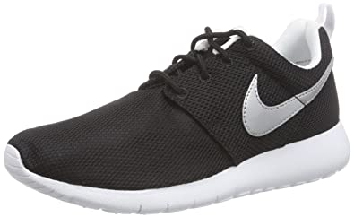purchase cheap dbb59 050fe Nike Roshe One gs), Boys  Training Running Shoes, Black (Black