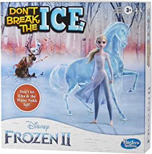 Hasbro Games Don't Break The Ice Disney Frozen 2 Edition Game for Kids Ages 3 and Up, Featuring Elsa and The Water Nokk (Amazon Exclusive)