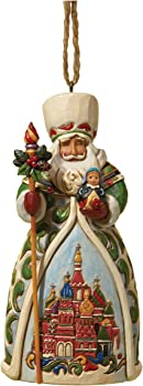 Enesco Jim Shore Heartwood Creek Russian Santa Ornament