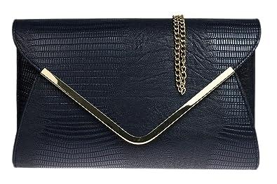 c8ab8d0d2f6a Girly Handbags - Pochette   Sac à main de soirée   mariage - Femme - Noir