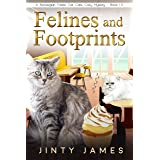 Felines and Footprints: A Norwegian Forest Cat Café Cozy Mystery – Book 13