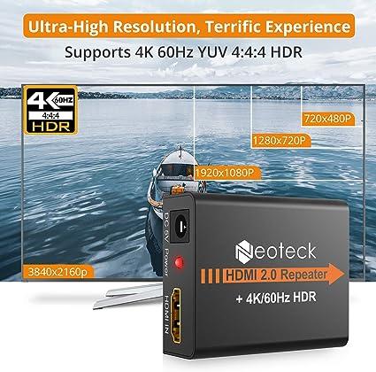 Am /_ Eg /_ 4K 2K HDMI Extender Repeater 3D Adapter Mini Signal Verstärker Boost