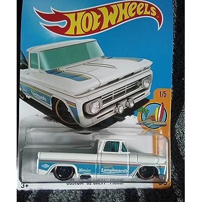 Hot Wheels 2020 Surf's Up Custom '62 Chevy Pickup 348/365, White: Everything Else