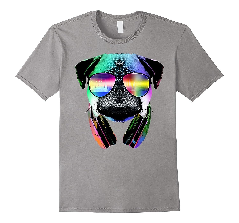 Original: Music Lover Pug - Dog Lovers T-Shirt - 2016-T-Shirt