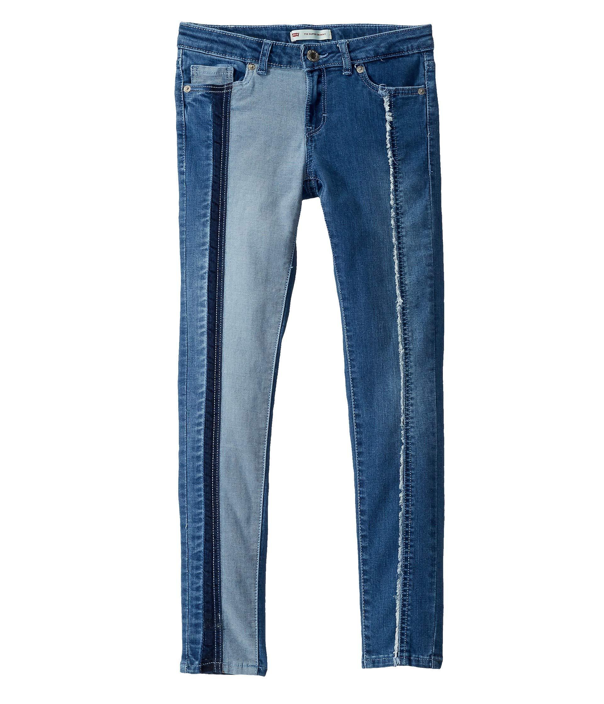 Levi's Girls' Big 710 Super Skinny Fit Jeans, Clean