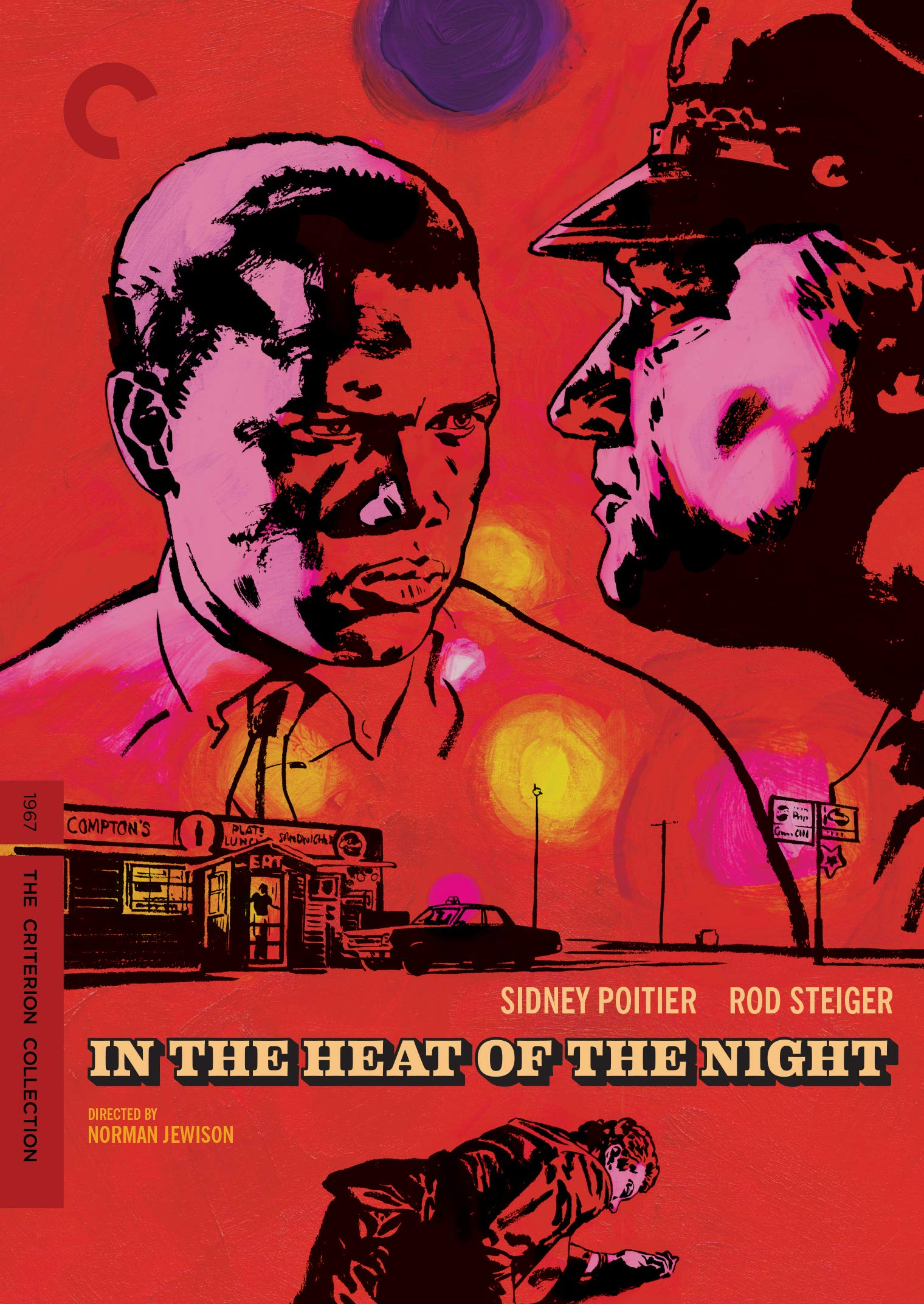DVD : In The Heat Of The Night (criterion Collection) (4K Mastering, Restored, Special Edition, Widescreen, Mono Sound)