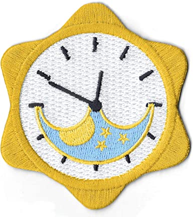 Moon Girl Iron on Embroided patch