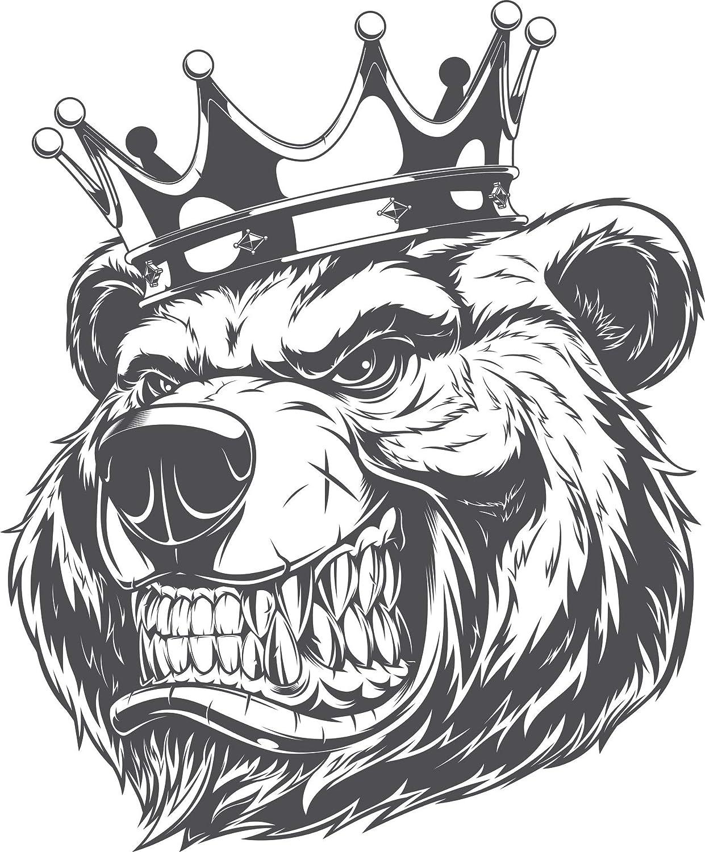 Amazon.com: BRK Studio Scary Aggressive Angry Growling Royal ...