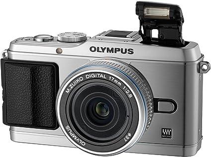 Olympus Pen E P3 Systemkamera 3 Zoll Silber Kit Inkl Kamera