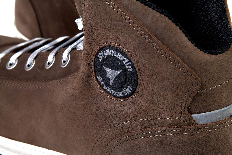 Brown, Size: US-7.5, EU-40 Stylmartin Adult Marshall Urban Line Sneakers