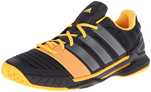 finest selection dee15 888a7 Adidas Adipower Stabil 11 Mens Indoor Court Shoe (8, BlackGreySolar