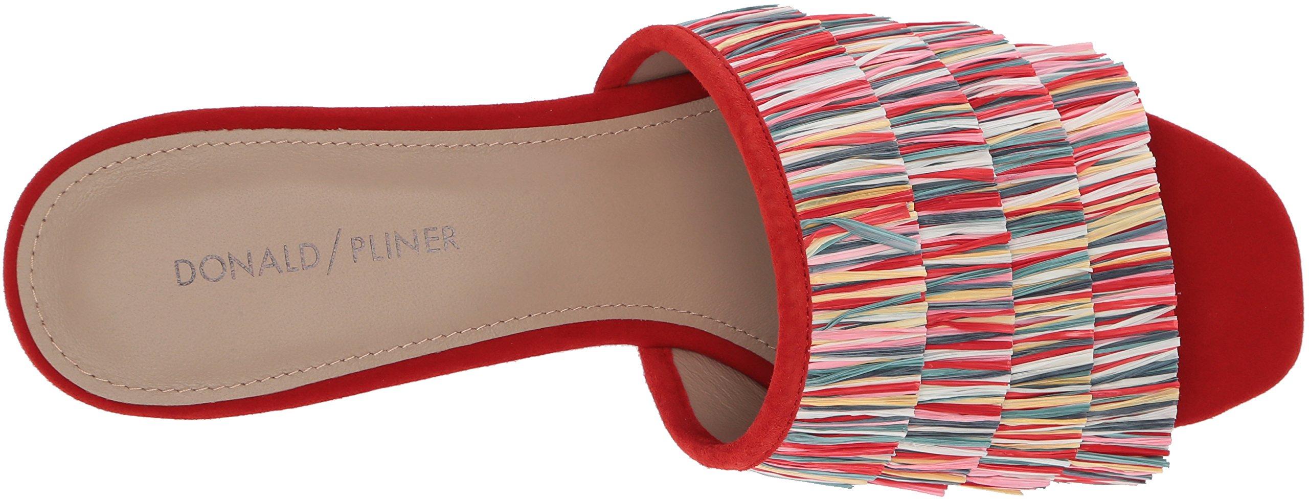 Donald J Pliner Women's Reise Slide Sandal, Red/Multi, 9 Medium US by Donald J Pliner (Image #8)