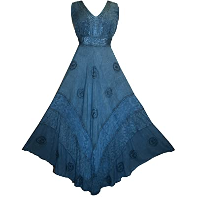 1011 DR Romantic Evening Empire Victorian Sleeveless Dress
