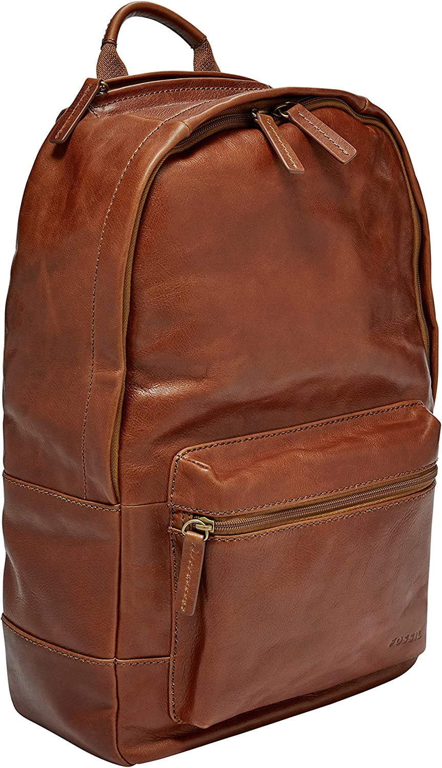 Fossil Leather Backpack with 13