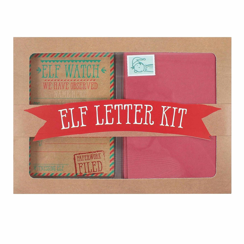 Amazon.com: Christmas Elf Letter Kit: Toys & Games