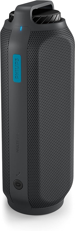 Philips BT7700B/00 Stereo Portable Speaker 16W Cilindro Negro Altavoz portátil - Altavoces portátiles (4,45 cm (1.75