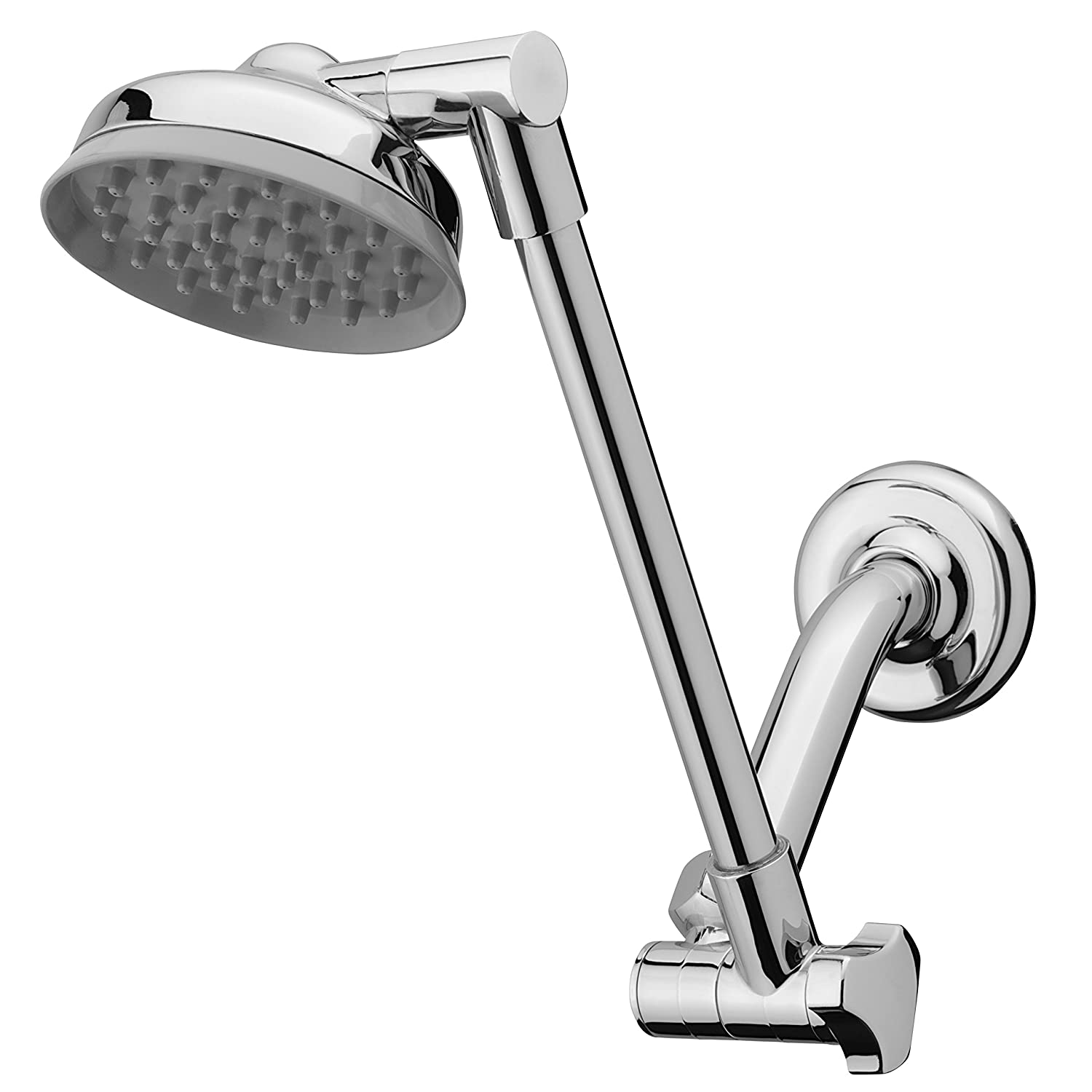 Waterpik JP-140 RainFall Showerhead with Adjustable Arm, Chrome