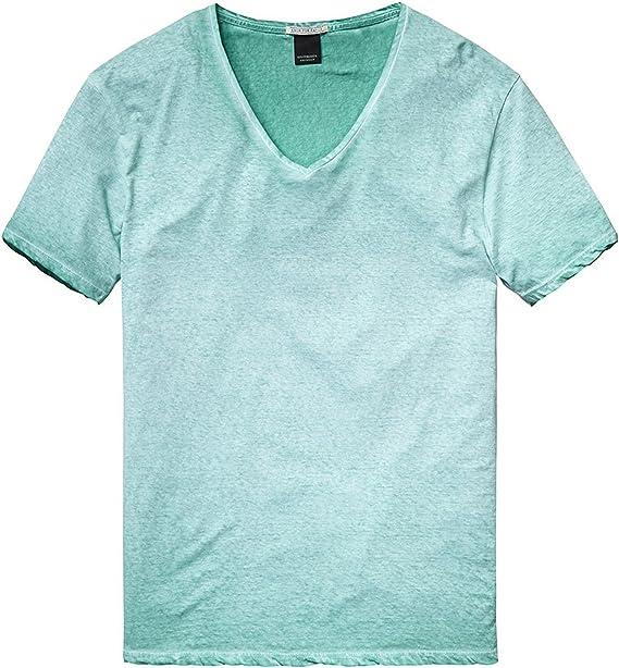 Scotch & Soda Mens V-Neck T-Shirt