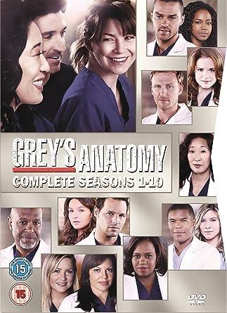 Greys Anatomy Season 1 10 Dvd Amazoncouk Ellen Pompeo