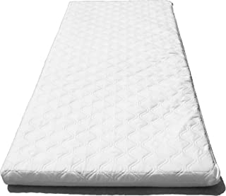 NURSERY BABY QUILTED BREATHABLE CRADLE//PRAM //COT//CRIB MATTRESS SIZE 89 x 38 CM