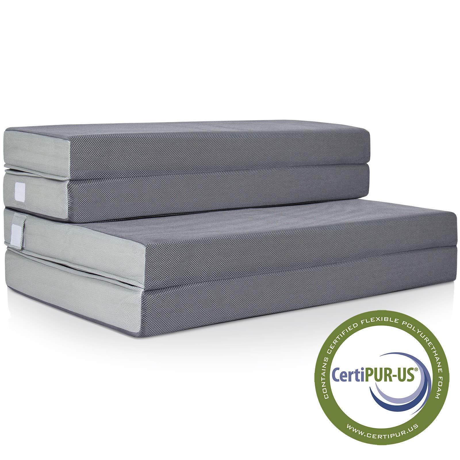 Best Choice Products SKY2760 Mattress, Queen, Gray