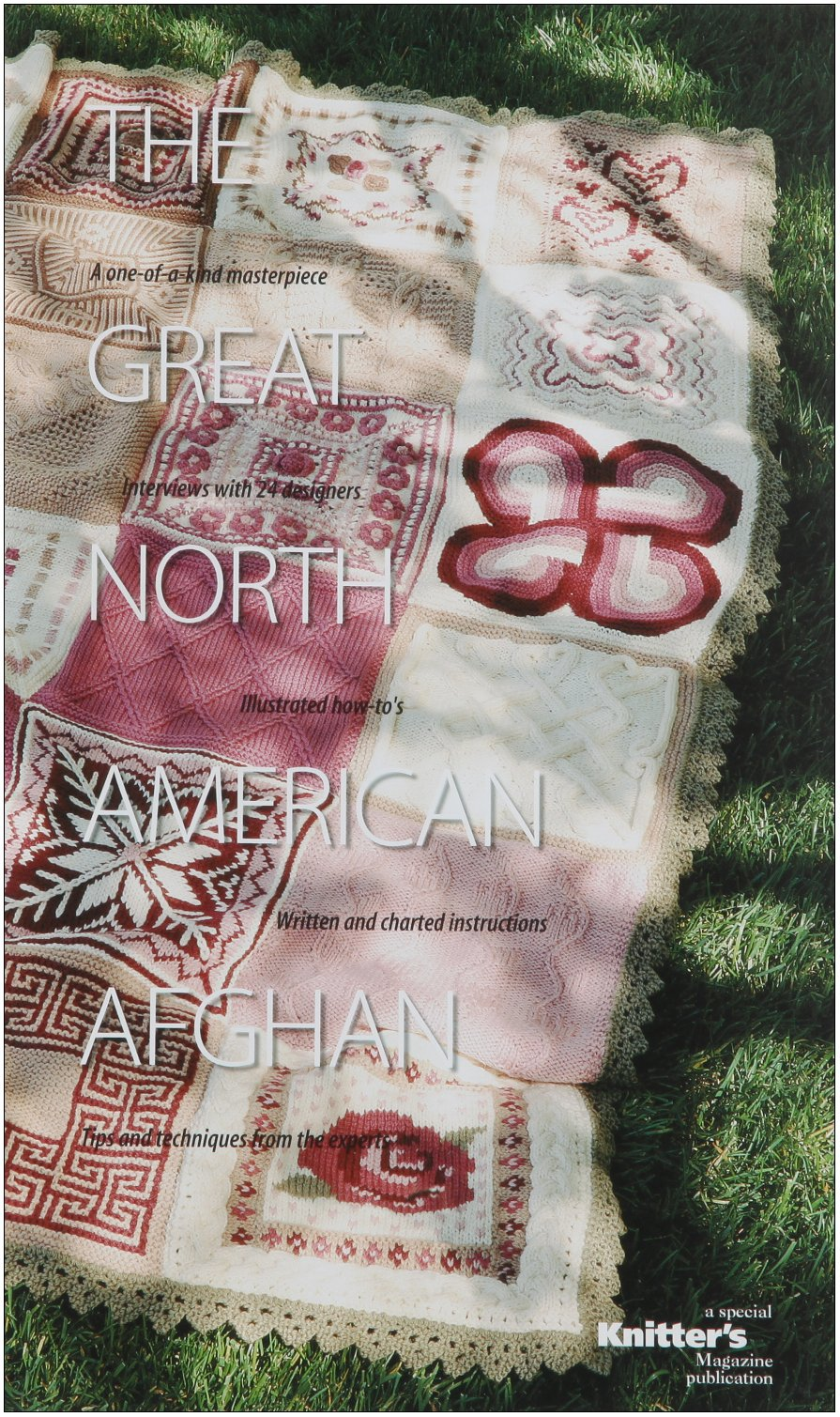 Download The Great North American Afghan: Interview with 24 Designers PDF