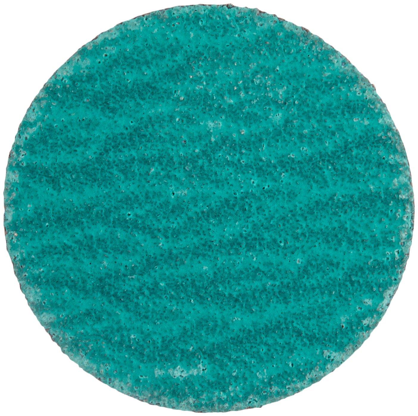 Zirconium 2 Diameter Core-Lock-R Pack of 10 CORE Abrasives 92154 Laminated Quick Change Abrasive Disc 60 Grit Polyester//Cloth Backing 2 Diameter CoreTemp Abrasives