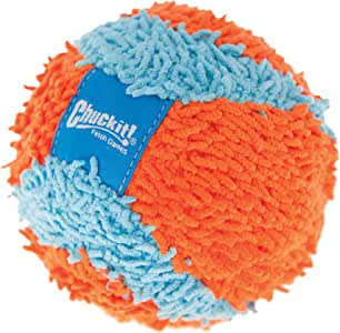 Chuckit! Indoor Ball, Orange/Blue, 4.7 inches