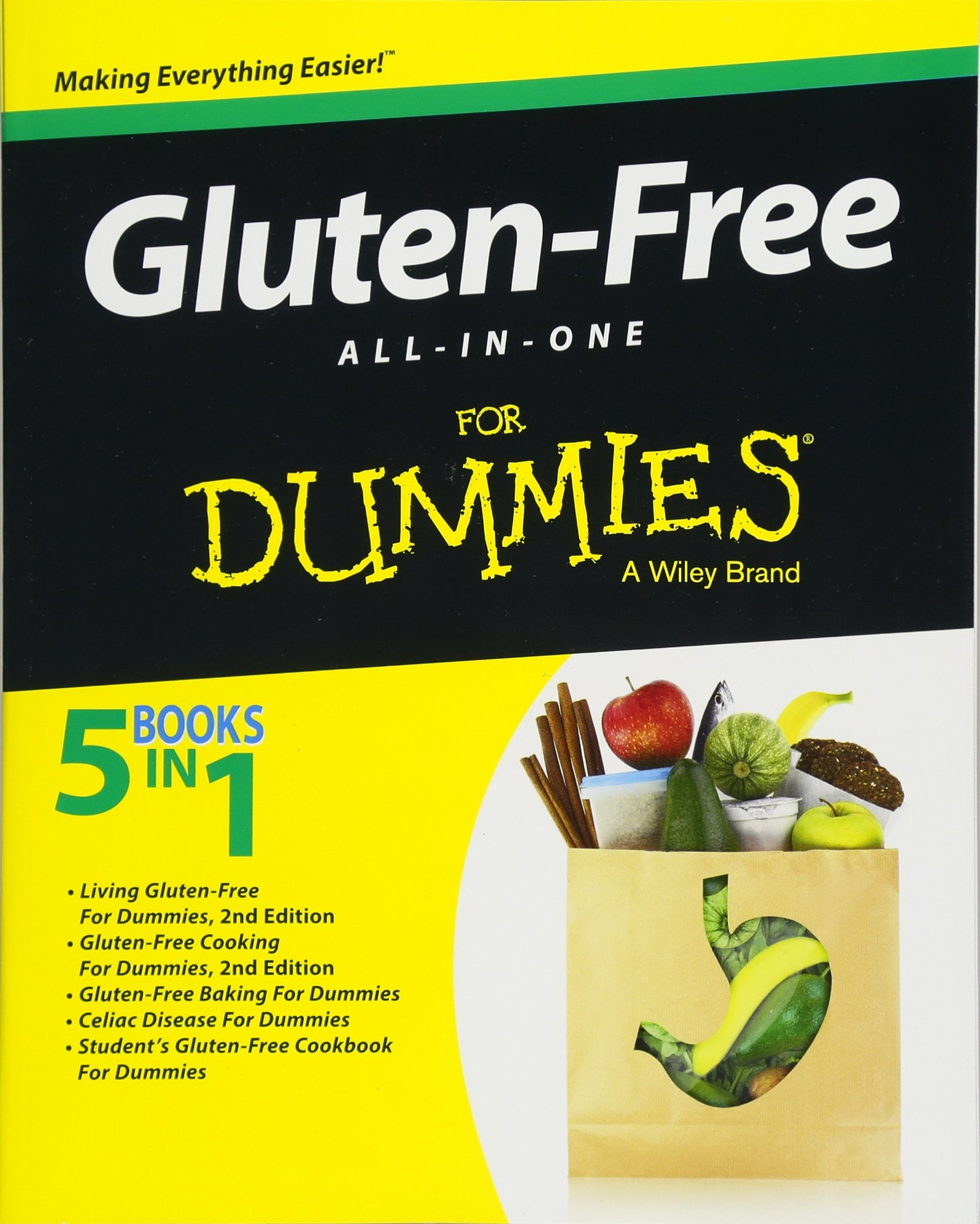 Gluten-Free All-In-One For Dummies: Consumer Dummies: 9781119052449:  Amazon.com: Books