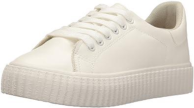5fc0caa2892 Rocket Dog Women s General Cadet Pu Fashion Sneaker White 8 M US