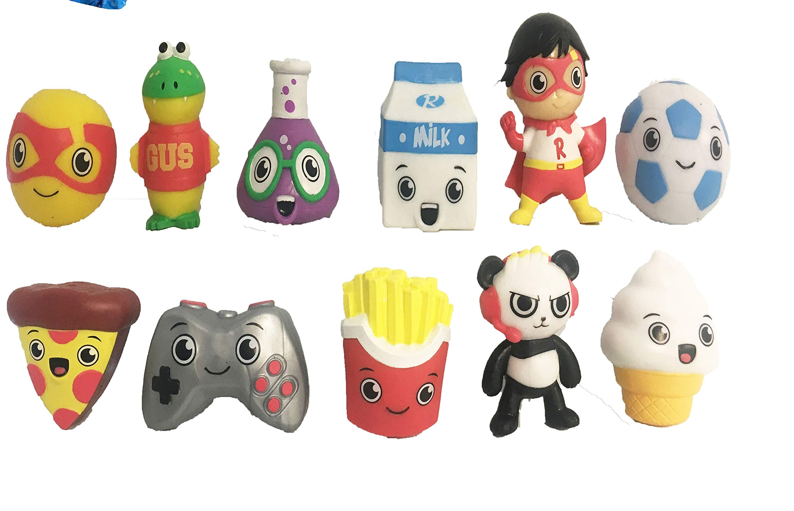 Ryan's World Surprise Jellies Squishy Toy Lot of 6 - Includes 6 Random Characters by Ryan's Toy Review by Ryan's World (Image #3)