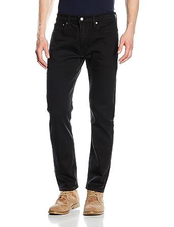 e72551bb Levi's Strauss Nightshine Black 502 Tapered Leg Jean - 00-31 at Amazon Men's  Clothing store: