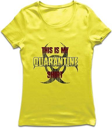 lepni.me Camiseta Mujer Esta es mi Camisa de cuarentena ...