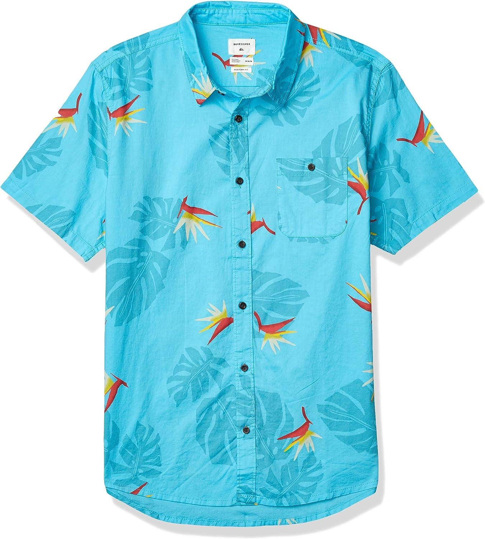 Quiksilver Paradise Shirt Short Sleeve Woven Camisa Abotonada para Hombre: Amazon.es: Ropa y accesorios