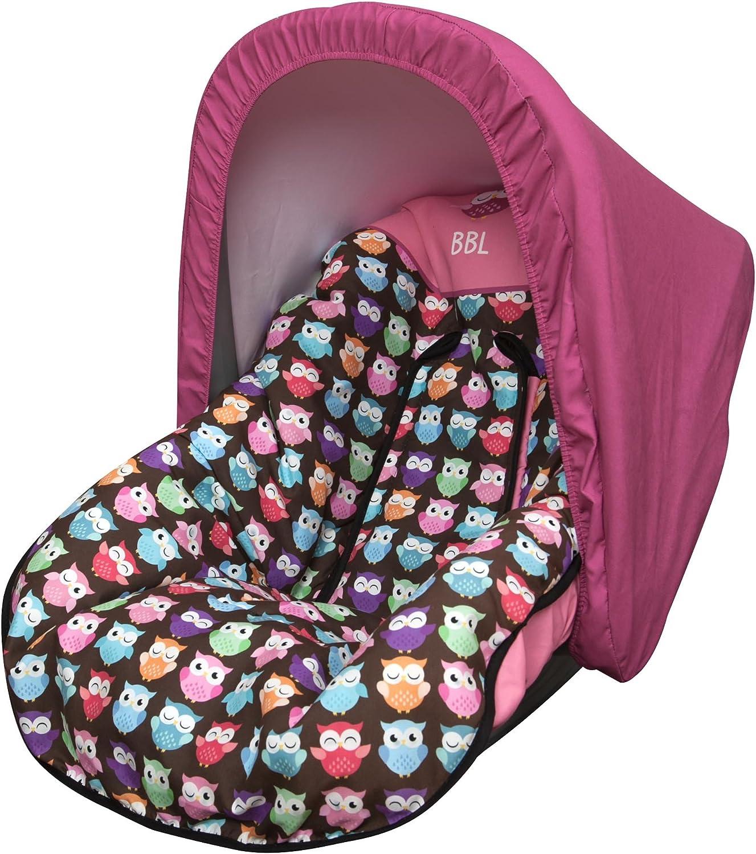 Babyline Estampado Búhos - Colchoneta para silla grupo 0, color ...