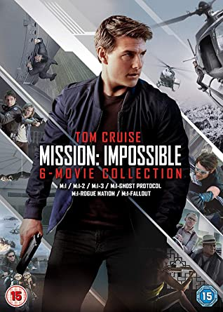 Mission Impossible The 6 Movie Collection Dvd 2018