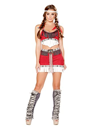 Amazon Com Lusty Tribal Temptress Costume Sexy Indian Costume