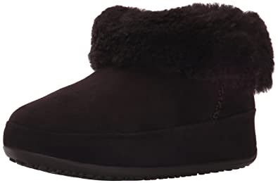 f731cef74bb5e FitFlop Women s Mukluk Shorty Boot Dark Brown 5 ...