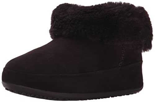 Fitflop Mukluk Shorty, Botines Mujer, marrón oscuro (Dark Brown), 38: Amazon.es: Zapatos y complementos