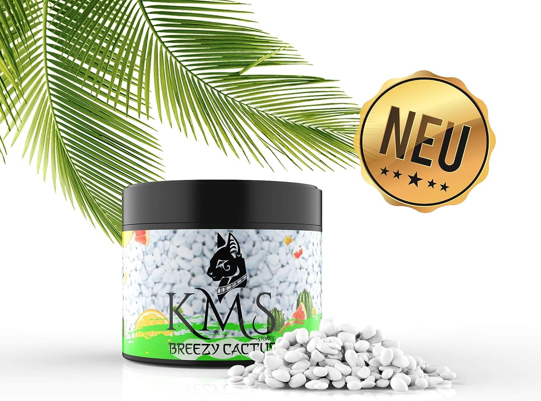 U//A KMS Shisha Tabak Kaktus + s/ü/ße Zitrone Breezy Cactus Steine - 250g Dose Dampfsteine f/ür einen intensiven und langanhaltenden Rauchgenuss