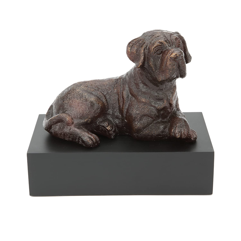 Urns UK Infinity Art Dudley Hundeurne, Bronzeoptik