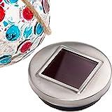 GreenLighting Dotted Solar Jar Light - Decorative