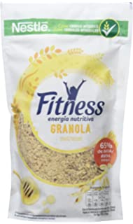 Cereales Nestlé Fitness Granola - Copos de avena integral y trigo con miel